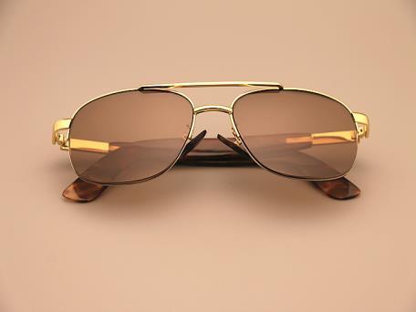 男款玳瑁水晶眼镜1588