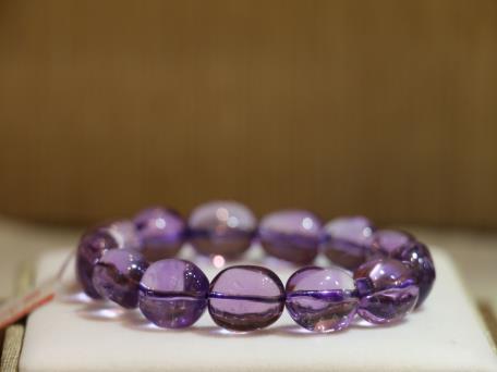 紫晶手链1280