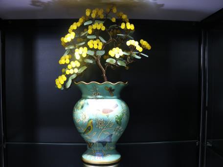盆景-鸟语花香1280